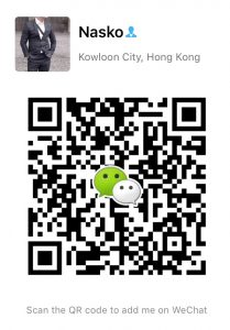 We Chat naskochina QR Code Китай